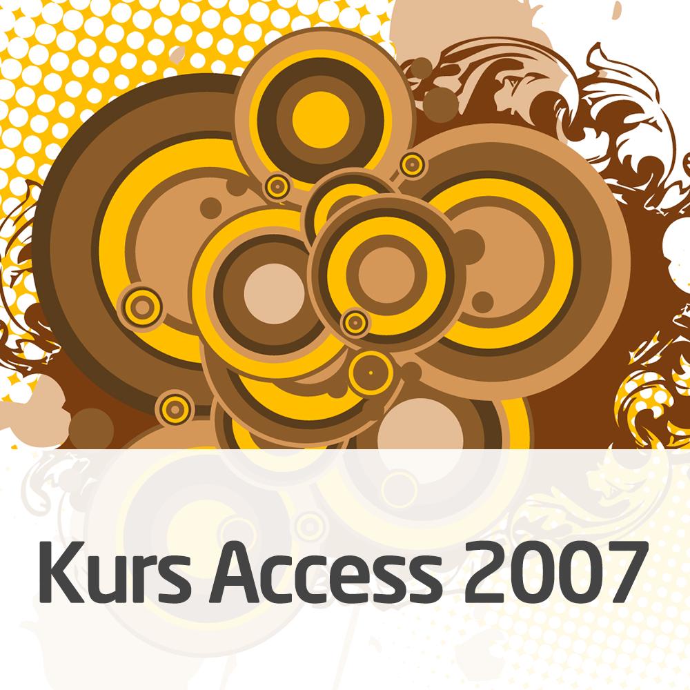 Kurs Access 2007