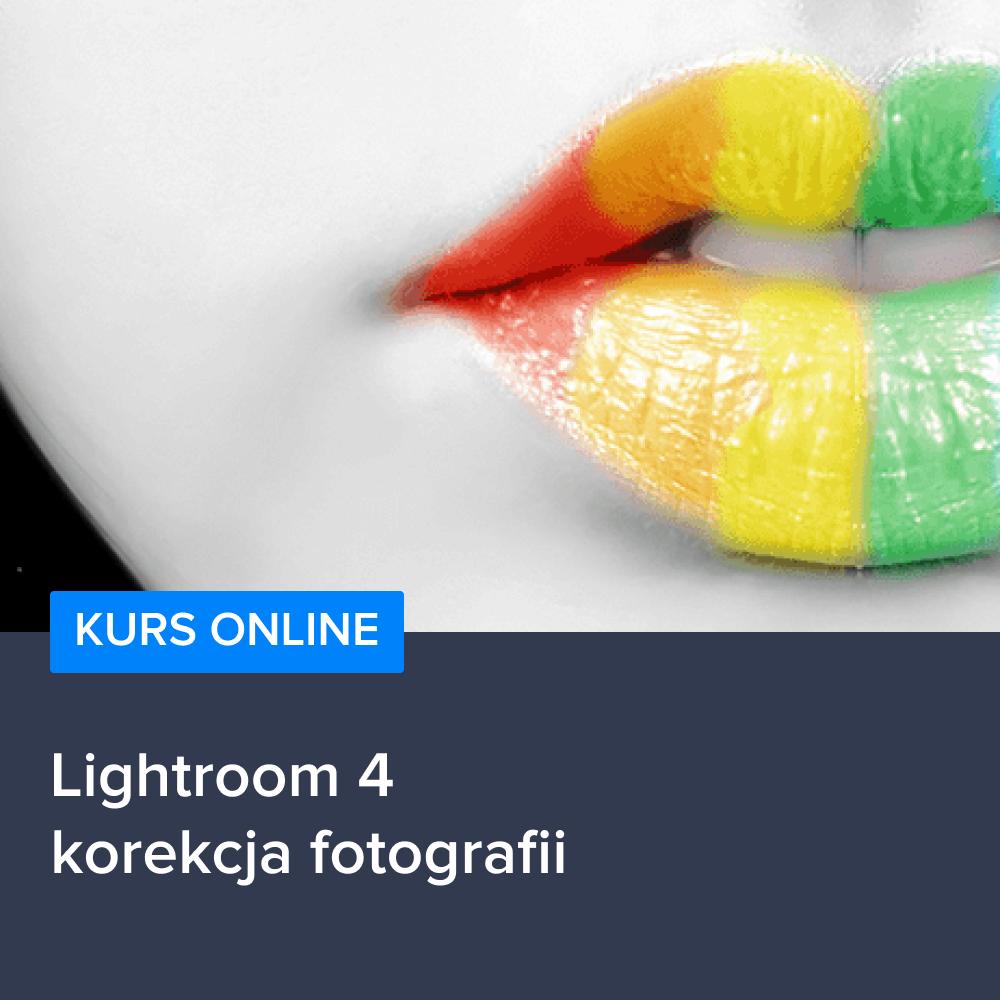Kurs Lightroom 4 korekcja fotografii