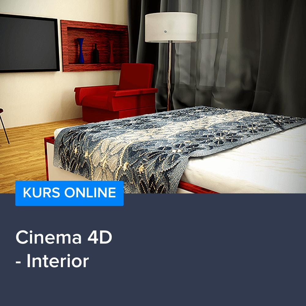 Kurs Cinema 4D - Interior