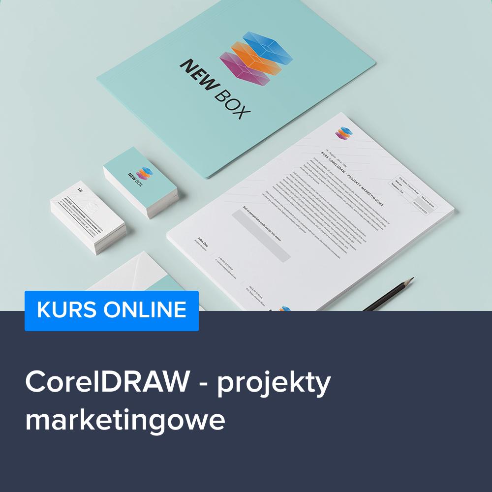 Kurs CorelDRAW - projekty marketingowe