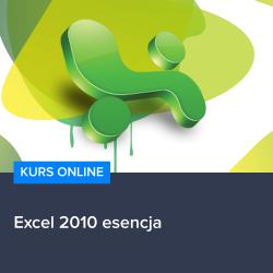Kurs Excel 2010 esencja