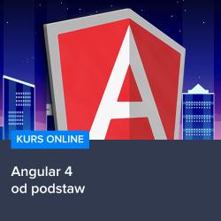 Kurs Angular 4 - od podstaw