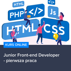 Junior Front-end Developer - pierwsza praca