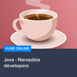 Kurs Java - Narzędzia developera