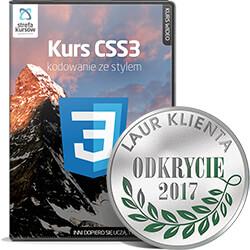 Kurs CSS3 - kodowanie ze stylem