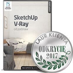 SketchUp + V-Ray od podstaw