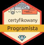 Ścieżka kariery - Certyfikowany Programista